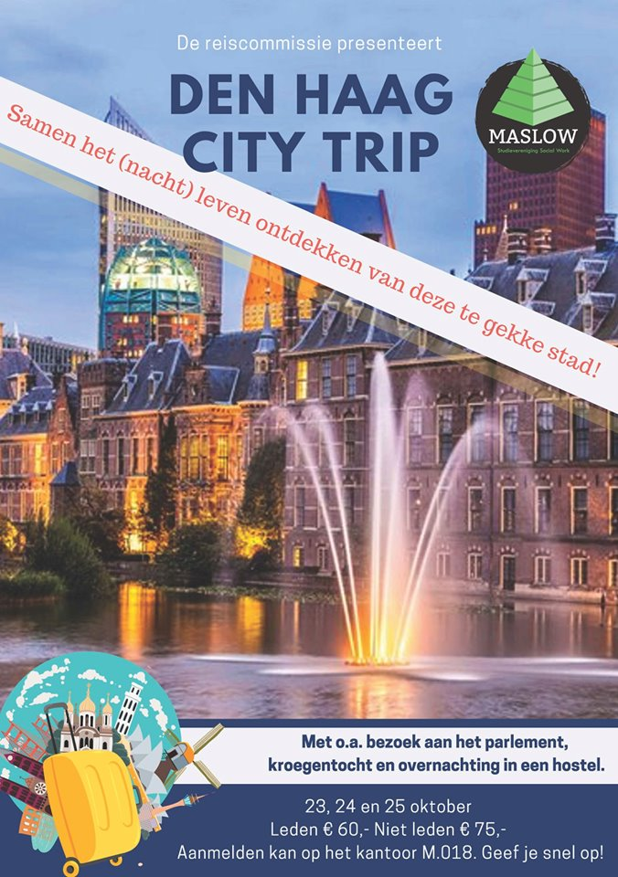 Maslow goes to Den Haag - Binnenlandse reis